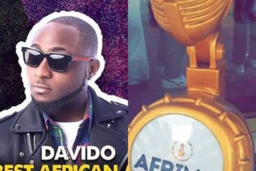 """Make those ones keep their Award wey dey peel…"" Davido Throws Shade At AFRIMA"