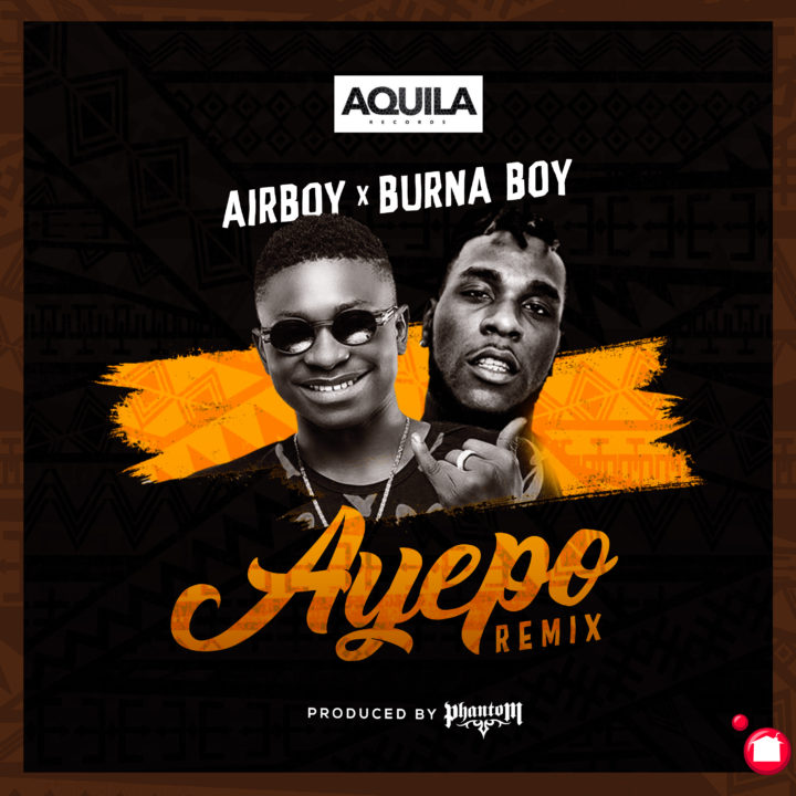 Image result for Video : Airboy - 'Ayepo' ft Burna Boy