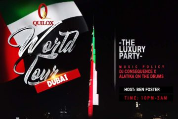 Shina Peller, DJ Consequence, Nigerian Superstars Set To Shut Down Dubai On The QUILOX World Tour