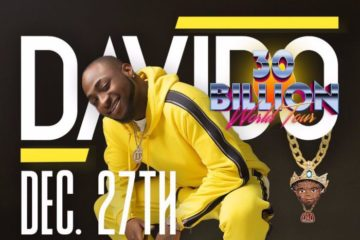 Davido Sets To Shut Down Lagos As He Concludes His 30 Billion World Tour