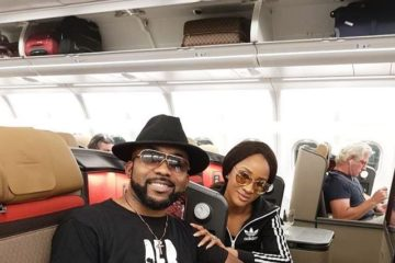 Legally Sealed! Banky W & Wife Off To SA To Complete Celebration #BAAD2017