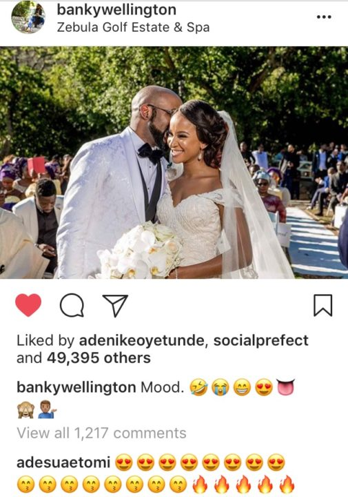 Banky W shares Nude Video of his Wife Adesua