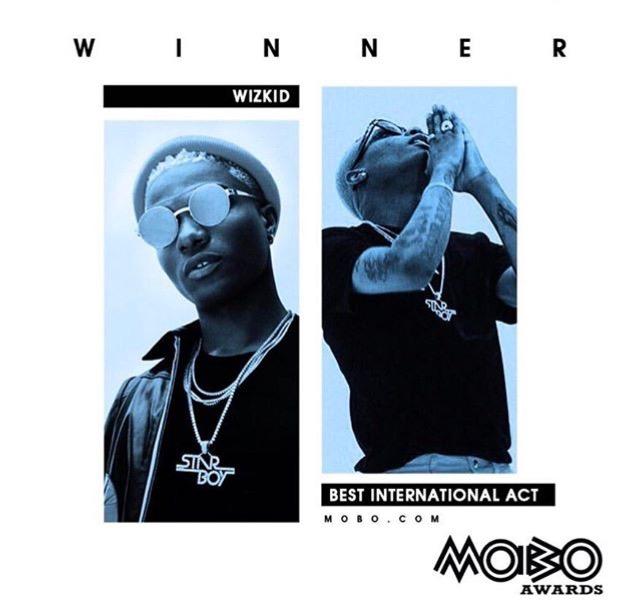 MOBO Awards Wizkid