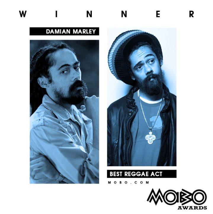 Damian Marley MOBO Awards