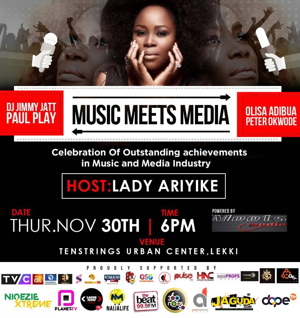 Meets Media Festival Edition Featuring Omawumi, DJ Jimmy Jatt, Yemi Alade, Olisa and More