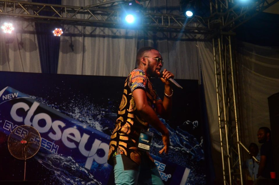 Kelechi Henry Enugu champion Closeup CoolLikeThat music competion performing during the show 960x636