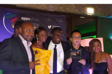"Boomplay Music Wins ""Best African App"" Award At The AppsAfrica Innovation Awards 2017"