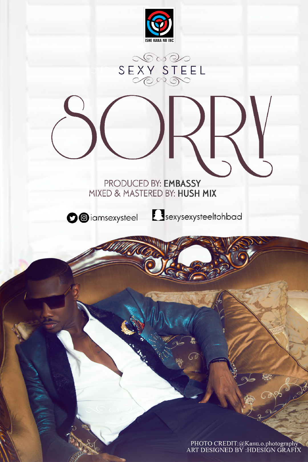 Sexy Steel ft. 9ice - Ishe Kana Ni | Sorry