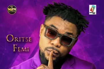 "Oritse Femi Reveals Album Art And Tracklist To New Album ""L.I.F.E"""