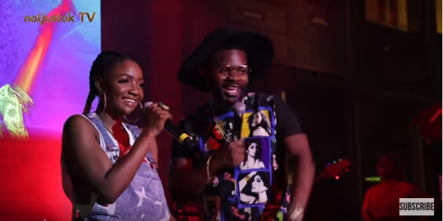 "NotjustOk TV: What Happened Between Simi, Adekunle Gold & Falz At ""See Me Live"" Concert"