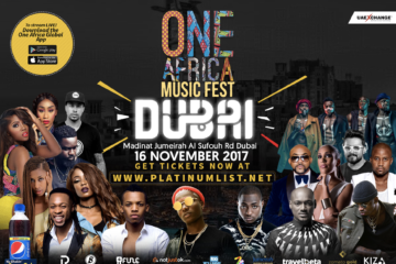 Countdown To One Africa Music Fest Dubai Concert With Africa's Biggest Stars