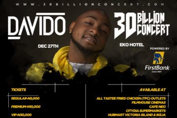 Davido's #30BillionConcert in Lagos: Here are 5 Reasons Why You Shouldn't Miss the Epic Affair!