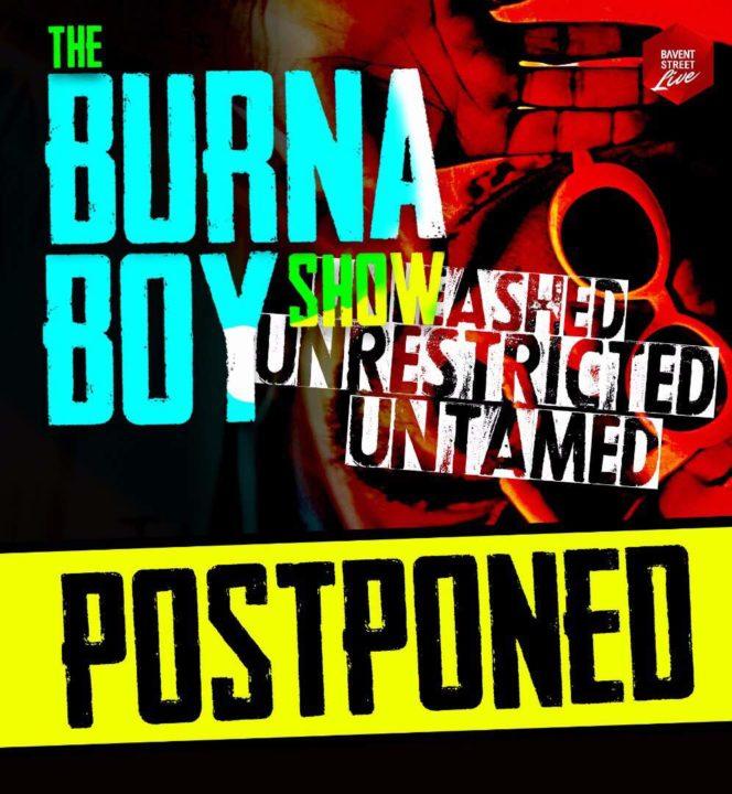 BREAKING!! The Burna Boy Show POSTPONED Over Mr. 2Kay Allegations
