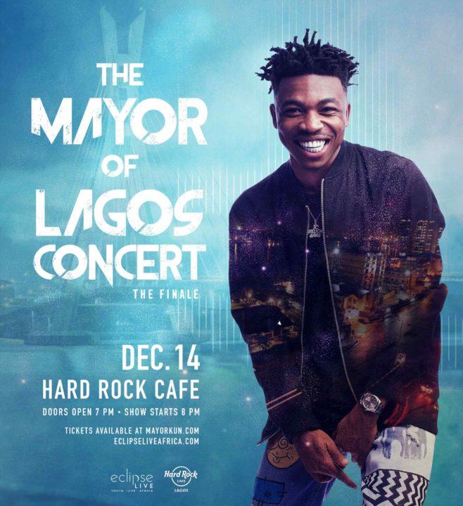 "NotjustOk TV: Davido, Mr. Eazi Support Mayorkun As Fans Go Wild At ""Mayor of Lagos"" Concert"