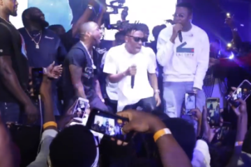 "NotjustOk TV: Davido, Mr. Eazi Support Mayorkun As Fans Go Wild At ""Mayor of Lagos"" Concert"