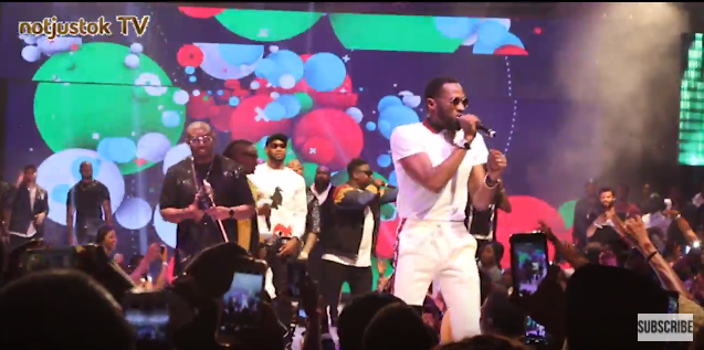 NotjustOk TV: D'Banj, Don Jazzy, Mo'Hits Crew Finally Reconcile, Perform At #30BillionConcert