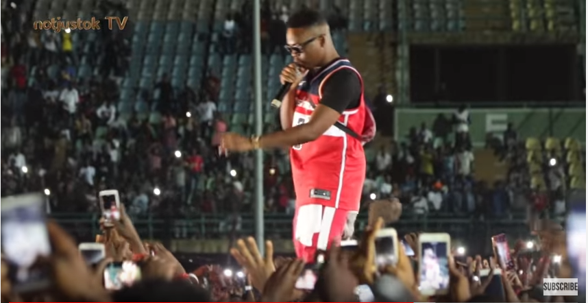 NotjustOk TV: Olamide, Phyno, Tiwa Savage, Lil Kesh Thrill Fans At #OLIC4 Concert