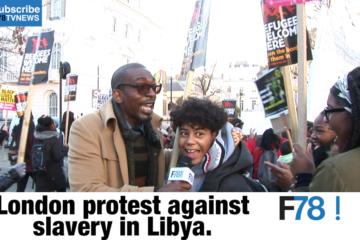 F78NEWS: London Protest Against Slavery In Libya, Wizkid Blast Award Organisers, Kiss Daniel