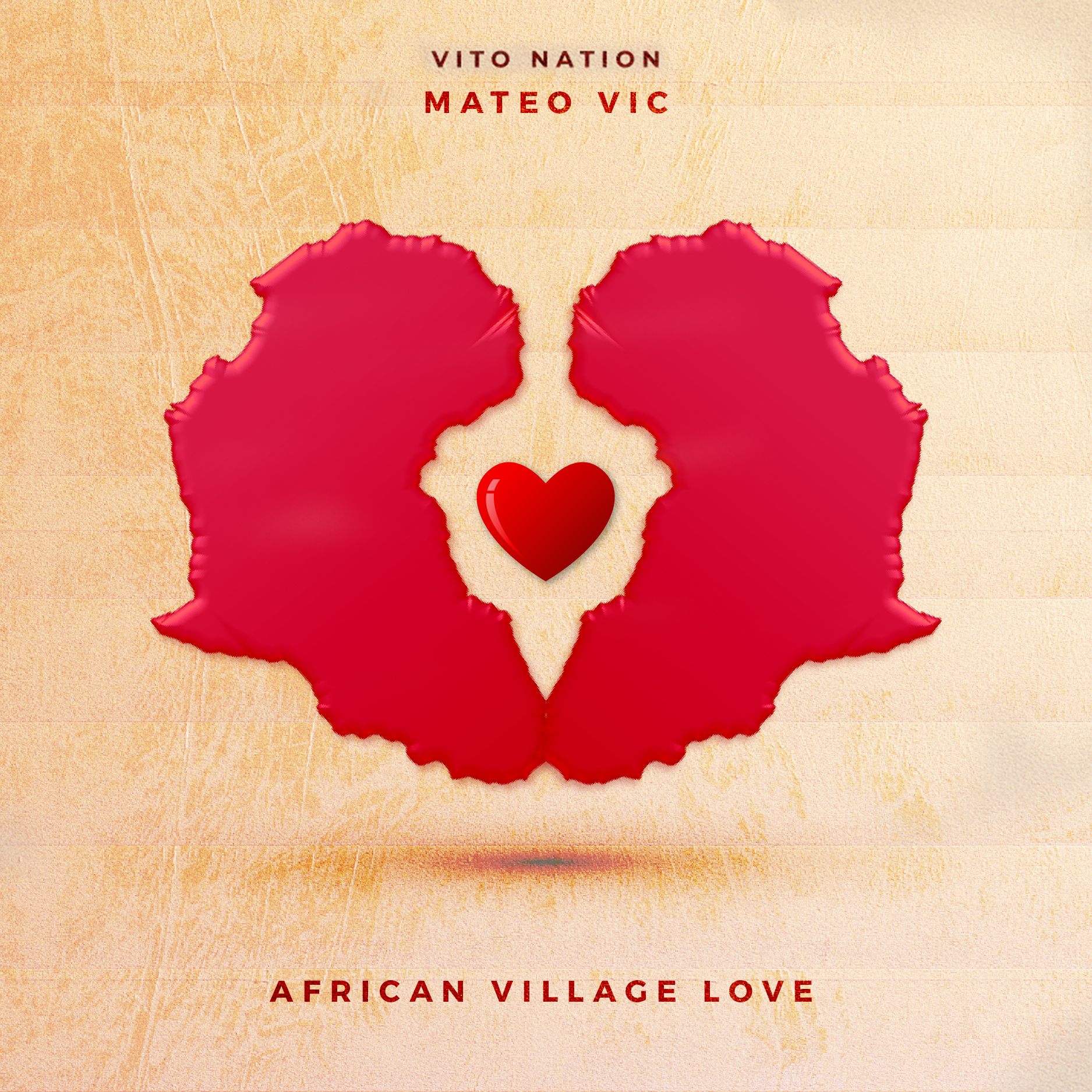 Mateo Vic - African Village Love