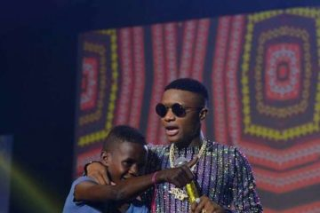 Wizkid Shows Off His New Young Talent, Ahmed