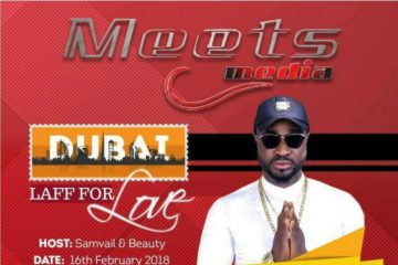 Meets Media: Paul Play, Harrysong, FST to Laff For Love In Dubai