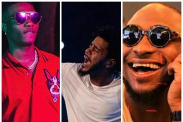 Wizkid and Davido; Are They The Perfect Artistes To Perform With J.Cole? Reactions