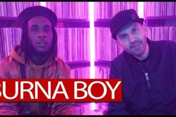 "VIDEO: Burna Boy Talks New Album ""Outside"" , UK Scene And More On Tim Westwood + Freestyle"