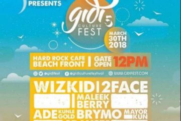 NotjustOk TV: Wizkid, 2Baba, Mayorkun, Ycee, Maleek Berry To Storm Lagos At #GidiFest2018