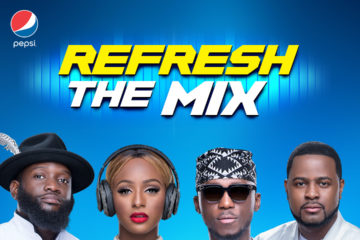 #RefreshTheMix: Spinall, Cuppy, Obi and Xclusive Are New Pepsi DJ Ambassadors