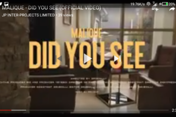 VIDEO: Malique  –  Did You See (Dir. by SaveMilli)