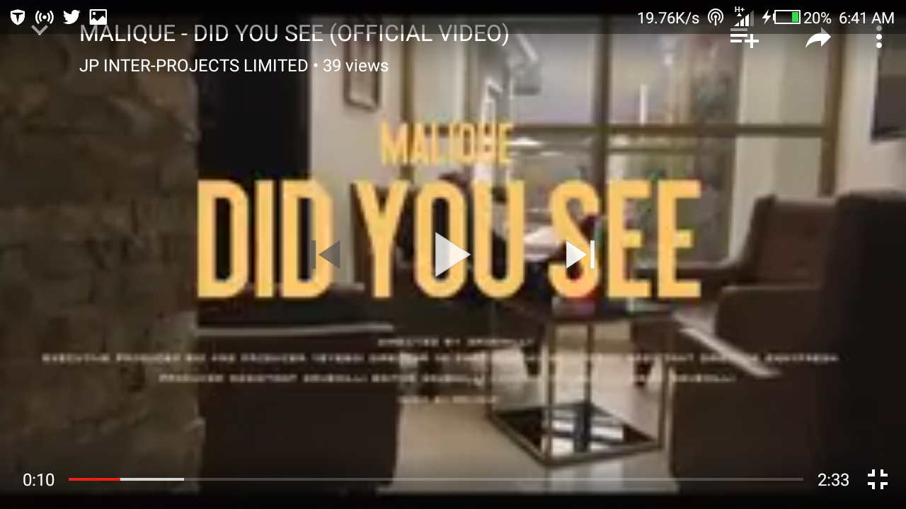 Malique – Did You See (Dir. by SaveMilli)