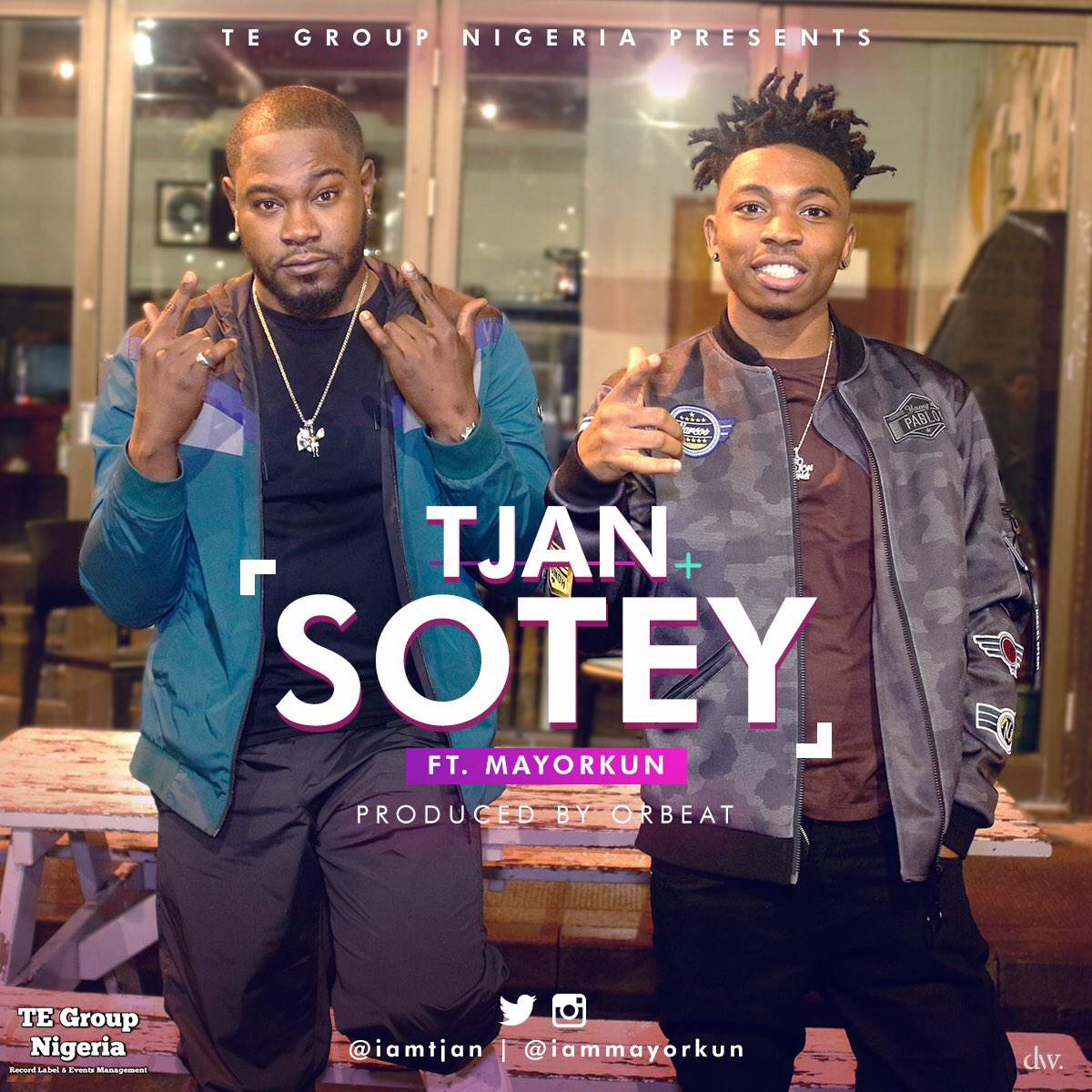 Tjan ft. Mayorkun – Sotey