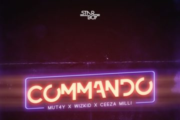 Mut4y – Commando Ft. Wizkid x Ceeza Milli (Prod. Spellz)