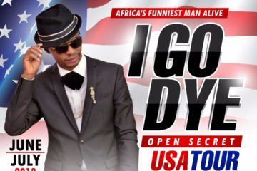 "Comedian, I Go Dye, Set For ""Open Secret"" US Tour This Summer 