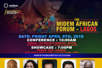 MIDEM African Forum Hits Lagos (Number One Music Conference)