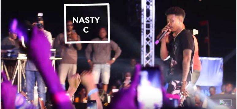 NotjustOk TV: Nasty C Storms Lagos, Performs Biggest Hits at #AfroBeachRave