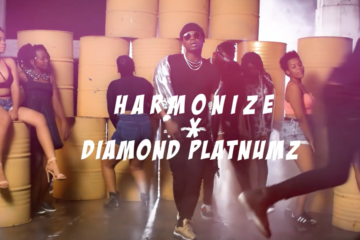 VIDEO: Harmonize ft. Diamond Platnumz – Kwangwaru