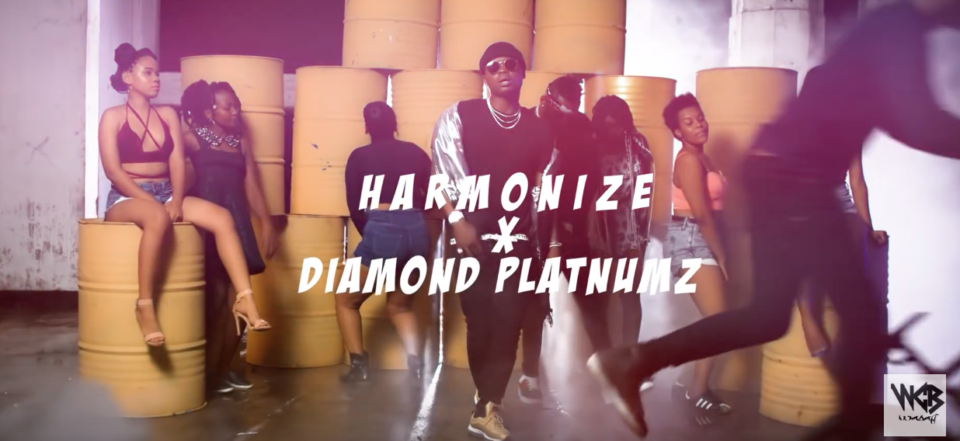 VIDEO: Harmonize ft  Diamond Platnumz - Kwangwaru - Notjustok