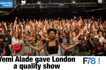F78 WEEKLY NEWS: Yemi Alade Gave London A Quality Show, Diamond Platinumz Arrested, Wande Coal + More.