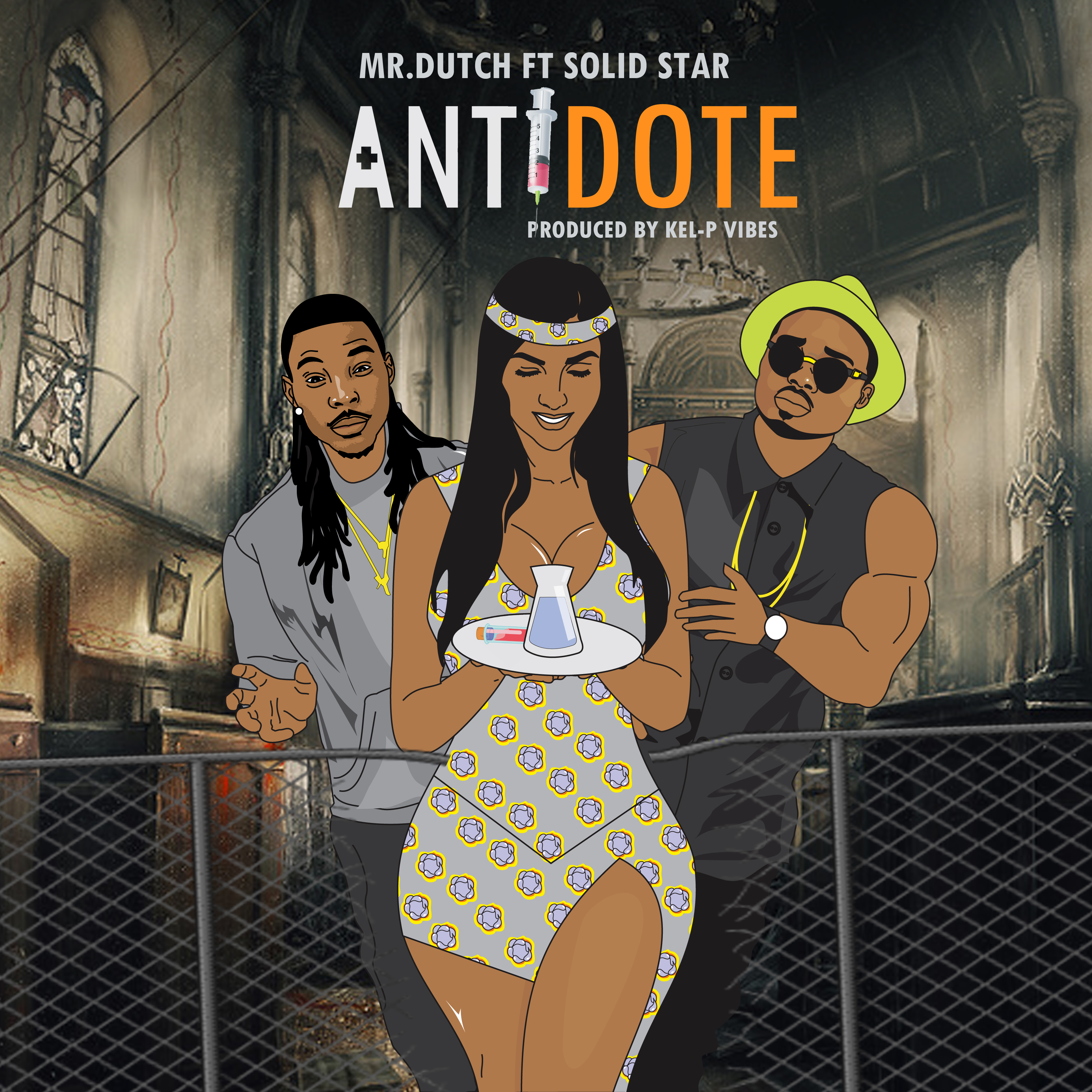 Mr Dutch ft. Solidstar – Antidote