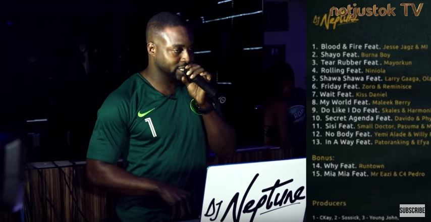 "NotjustOk TV: DJ Neptune Hosts Mr. Real, DJ Jimmy Jatt, Kaffy, Others At ""Greatness"" Listening Party"