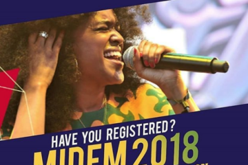 Nigerian/Afrobeats At Midem, Cannes to hold on Tuesday 5 June – Friday 8 June 2018