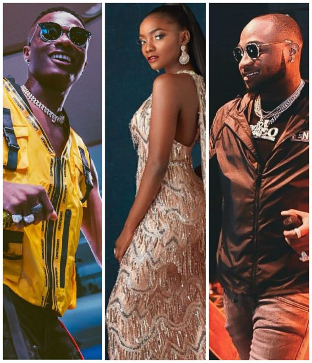 Wizkid, Simi & Davido Win 3 Awards Each At The Headies     Who's