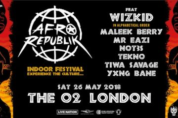 LIVE STREAM: AFROREPUBLIK feat. Wizkid @ The O2 Arena London
