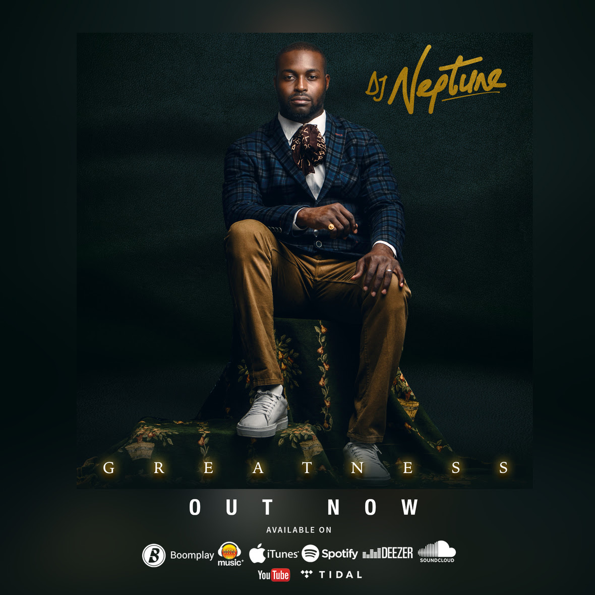 DJ Neptune - Shawa Shawa ft. Larry Gaaga, Olamide, CDQ & Slimcase | Greatness Album, Out Now!
