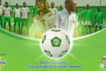 2Baba x Waje – Dettol Future Football Heroes