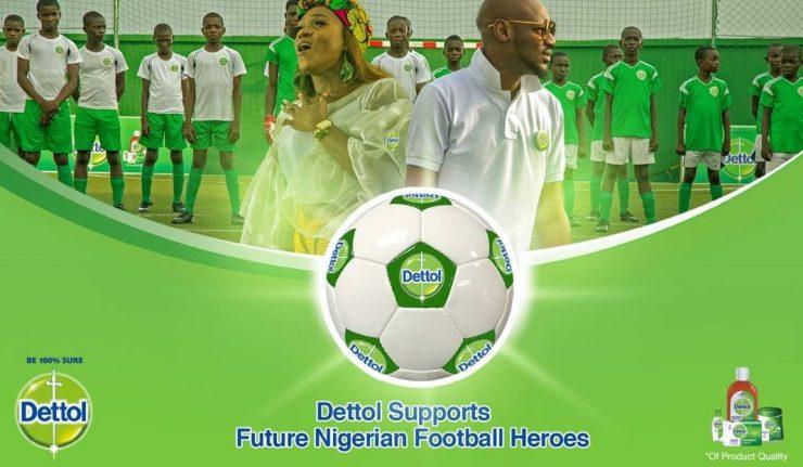 2Baba x Waje - Dettol Future Football Heroes