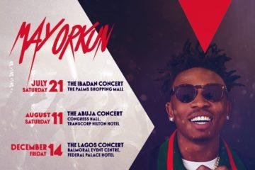 "Mayorkun To Hold ""Mayor Of Lagos"" Concert In Ibadan, Abuja & Lagos"