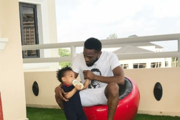 D'banj Loses One Year Old Son, Daniel Oyebanjo III