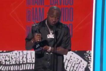 Davido Wins Best International Act Award At The BET Awards